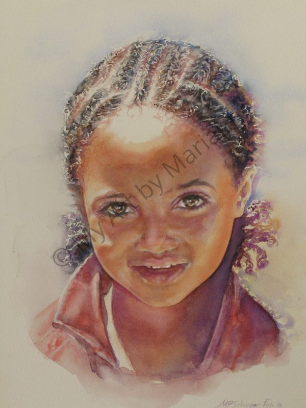 Ethiopian Girl by Marianne