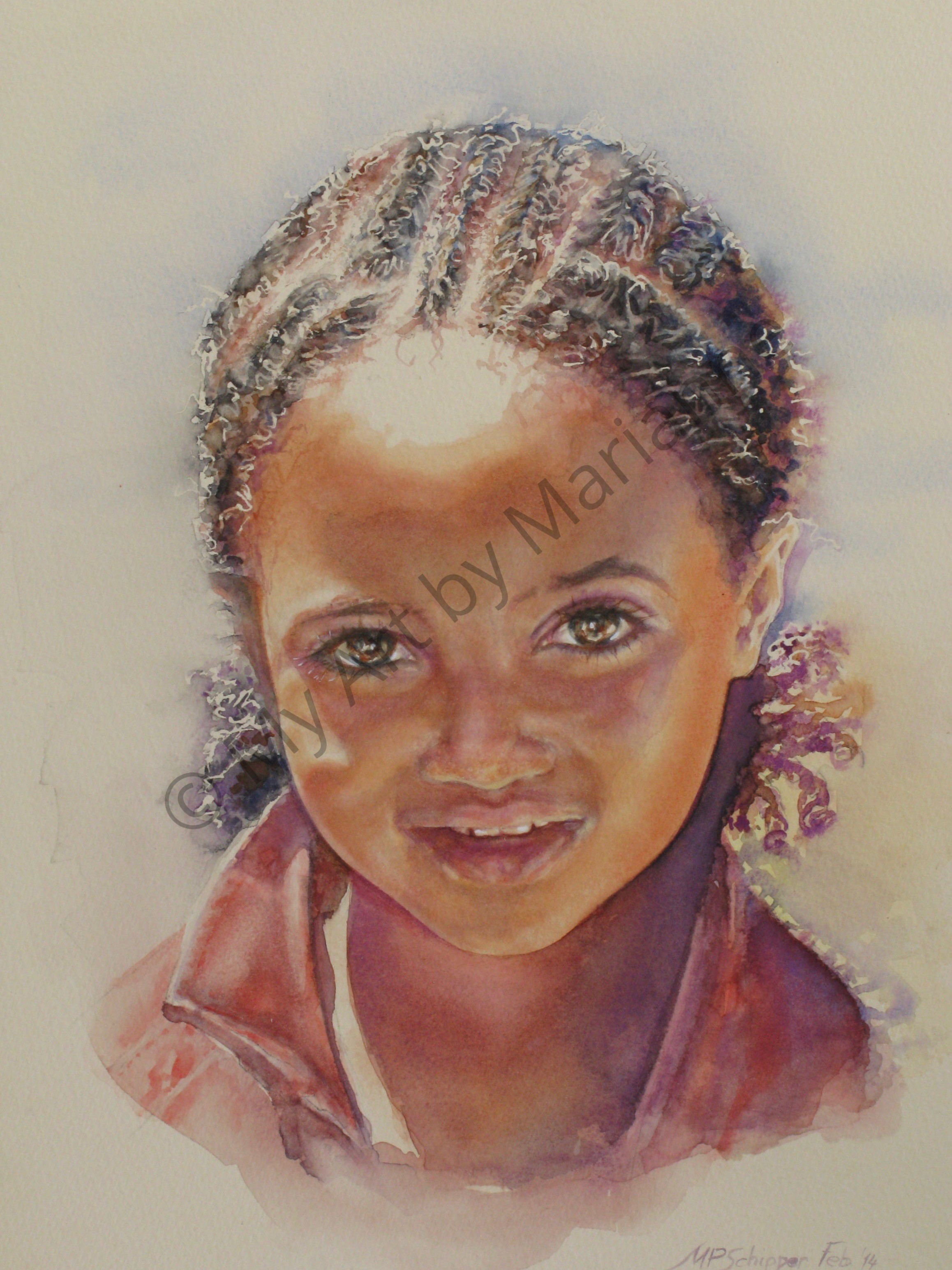 Ethiopian Girl by Marianne